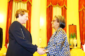 President Sahle-Work Receives Outgoing British Ambassador To Ethiopia (December 28, 2018