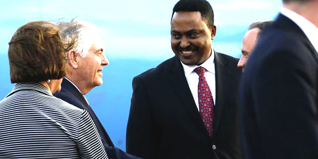 Dr Workneh receives his Spanish counterpart (March 07, 2019)