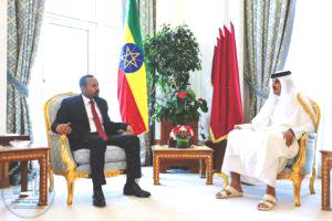 PM Dr Abiy Meets Qatari Prime Minister (March 20, 2019)