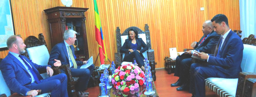 Sweden Supports Ethiopia's Efforts in Regional Peace, Stability (March 12, 2019)