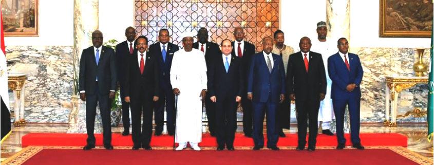 Deputy PM Demeke Attends AU Summit on Sudan, Libya Situations (April 23, 2019)