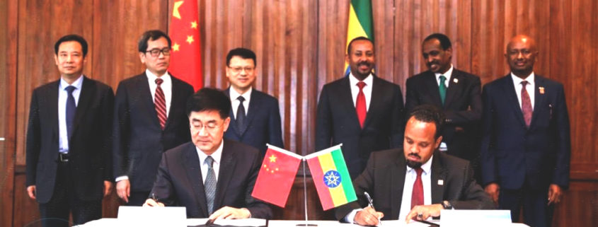 Ethiopia, China Sign USD 1.8bln Investment Agreement (April 24, 2019)
