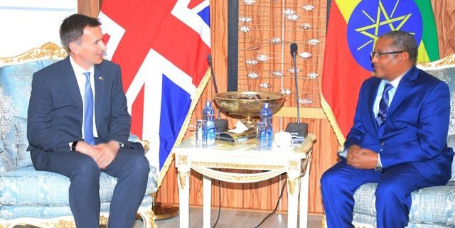 Ethiopia, UK Commit to Deepen Cooperation (May 02, 2019)