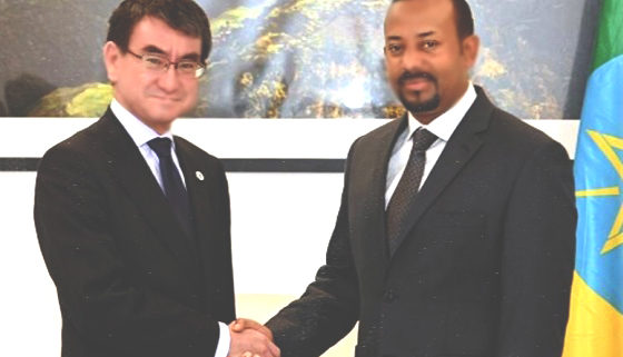 Premier Receives Japanese FM (May 06, 2019)