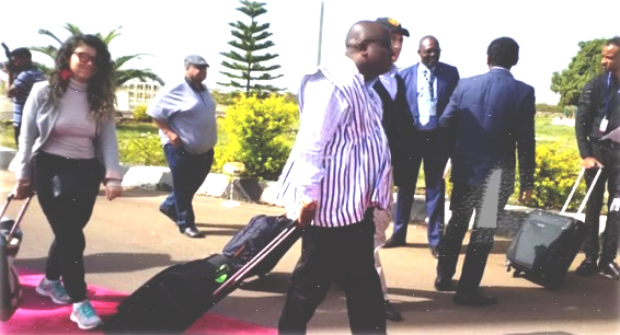 Tana Forum Participants Arriving in Bahir Dar (May 03, 2019)